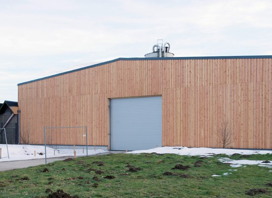 Lagerhalle CPB / Isocell